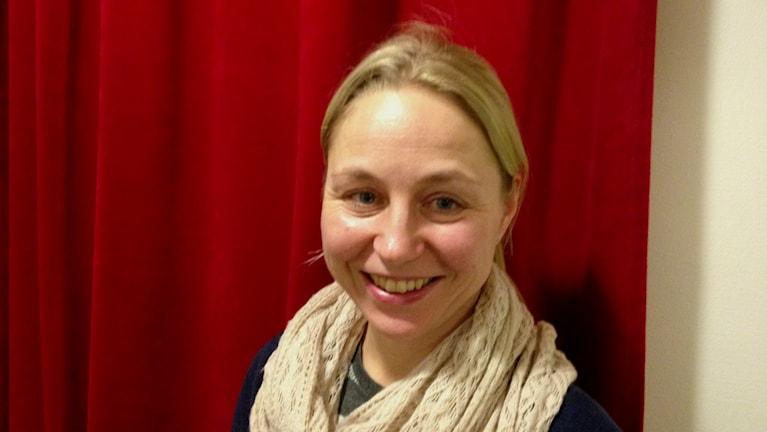 Anna Pilvinen ordförande Sverigefinländarnas språk- och kulturförening