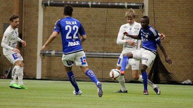 Sirius fotboll spelar mot GIF Sundsvall. Foto: Carl-Johan Höiby/Sveriges Radio