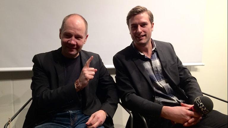 Peter Englund och Stefan Hesserud Persson