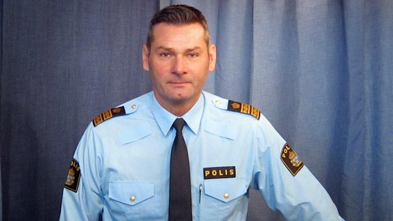 Michael Fetz, biträdande regionpolischef för Region Mitt
