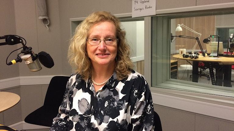 Eva Åkesson, Uppsala universitets rektor.