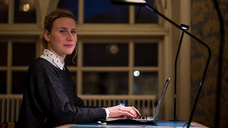 Fanny Siltberg får stort stipendie. Foto: Privat