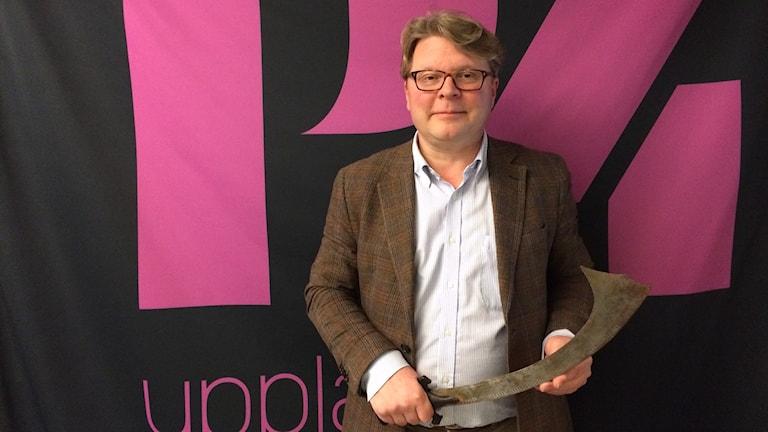 Årets antikhandlare Niklas Helms