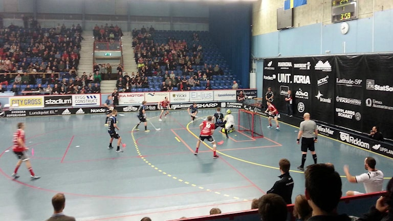 Storvreta-Helsingborg i SM-kvartsfinal.