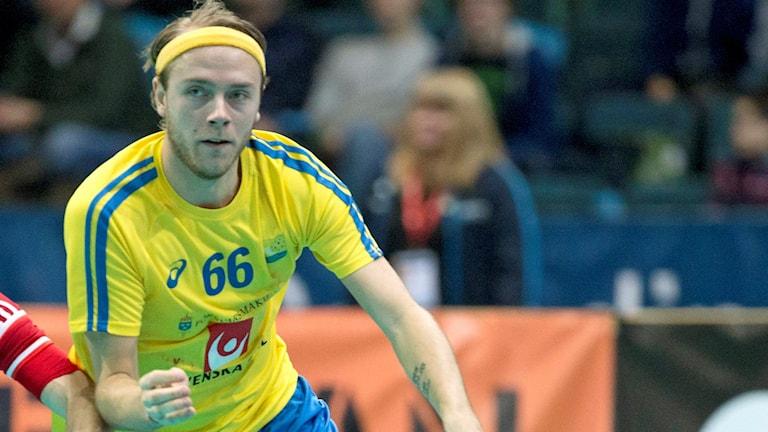 Storvretas Rasmus Sundstedt här i landslagströja.