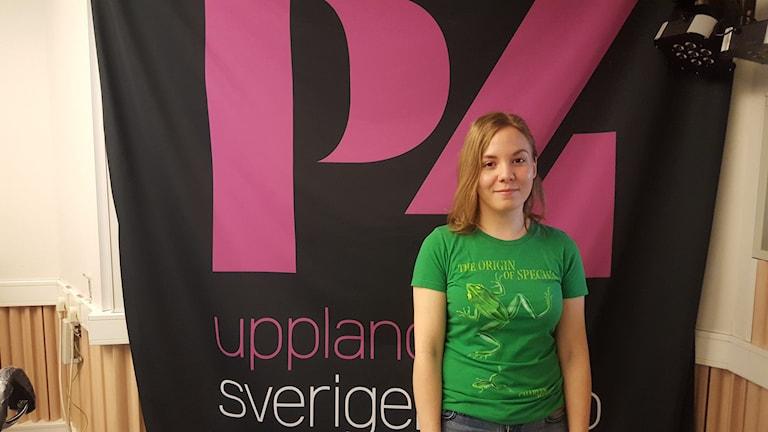 Camilla Dunér, oraganisatör för Wuthering Heights i Uppsala. Foto: Mattias Persson/Sveriges Radio