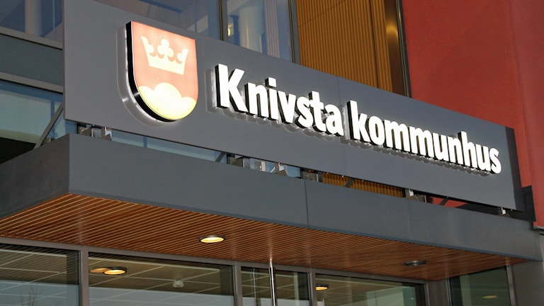 Knivsta kommunhus. Foto: Erik Thyselius/Sveriges Radio