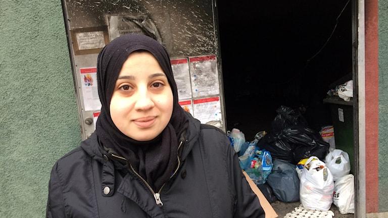 Jasmin Khalil som bor på Bandstolsvägen i Valsätra.Jasmin Khalil som bor på Bandstolsvägen i Valsätra.