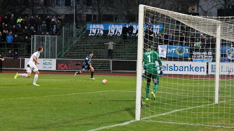 Siriusspelaren Ian Sirelius gjorde 3-3 målet mot ÅFF.