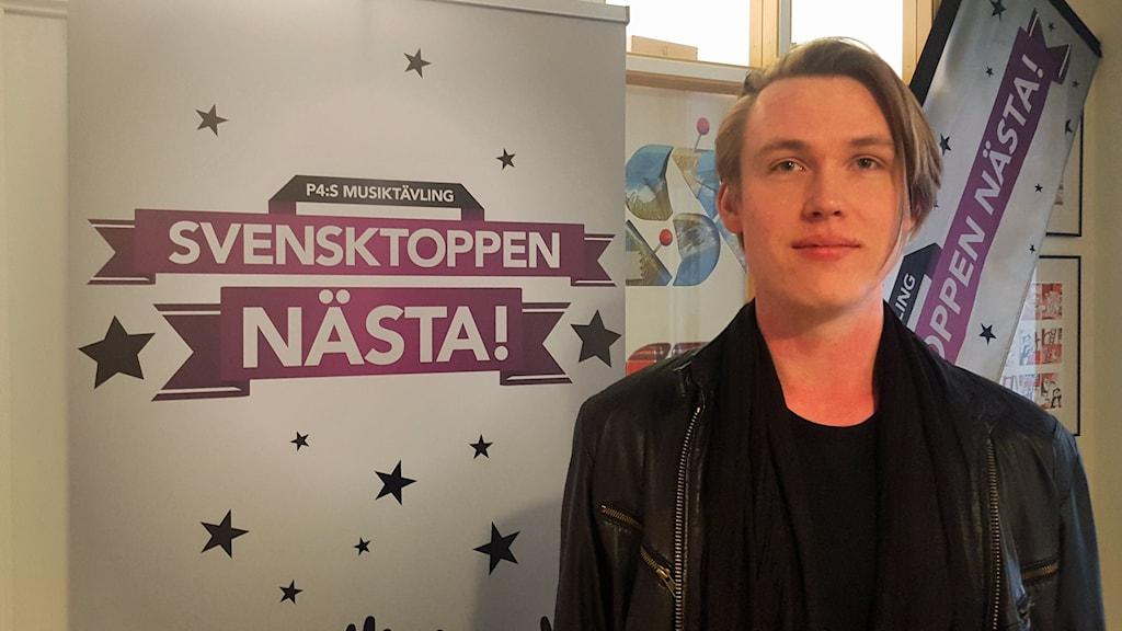 Viktor Odeheim tävlar i Svensktoppen nästa Uppland 2016