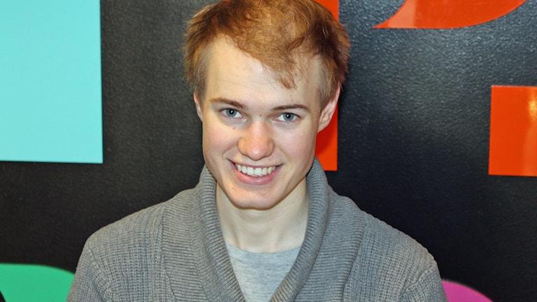 Jonathan Sandblom tävlar i Svensktoppen Nästa.