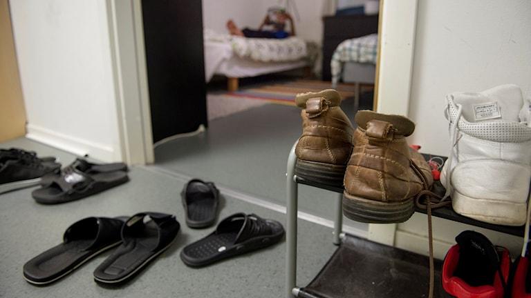 Arkivbild från flyktingboende för ensamkommande barn.