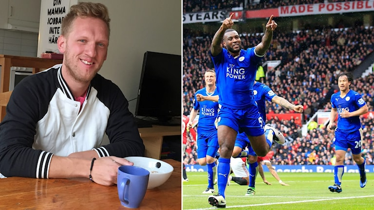 Uppsalastudenten Adam Danielsson trodde på Leicester