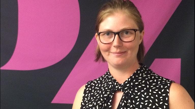 Norrtelje tidnings reporter Jessika Eriksson