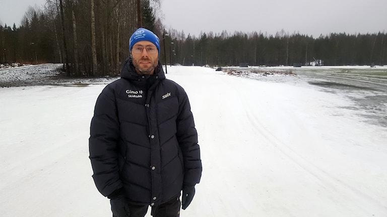 Per Sjöberg som är ordförande i Gimo Skidklubb