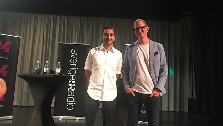 Christer Engqvist och Hannes Nelander.