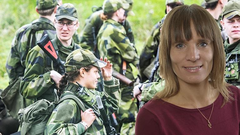 Jessika Roswall, riksdagsledamot och förbundsordförande för Moderaterna i Uppsala län berättar om Moderaternas skuggbudget.