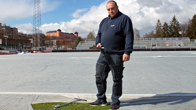 Håkan Johansson är arenaansvarig på Studenternas