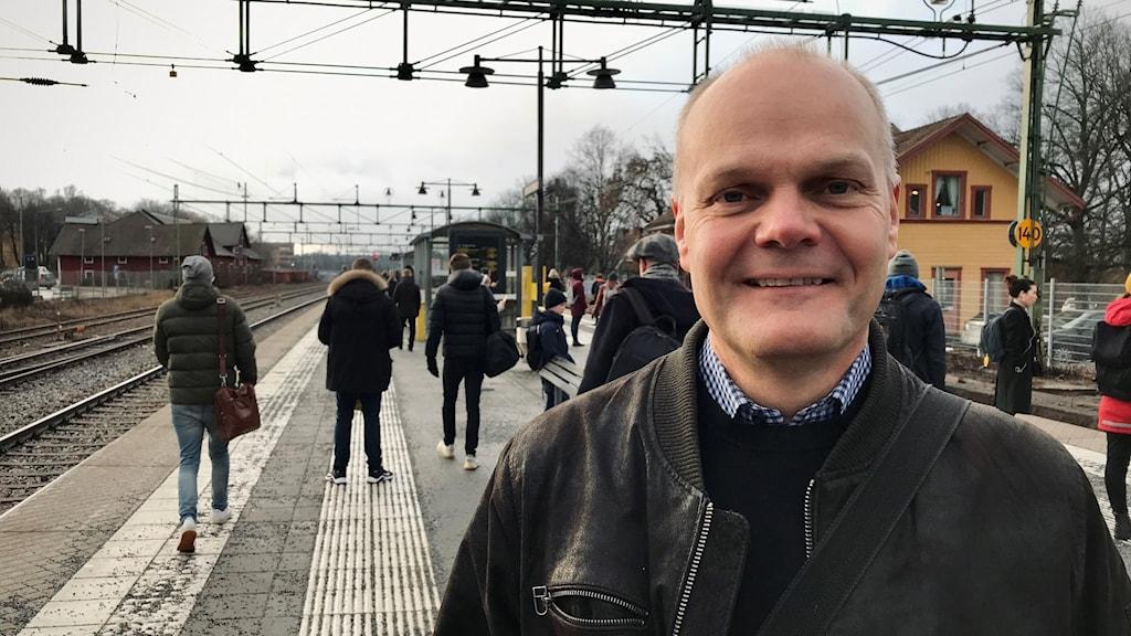 Peter Evansson är socialdemokratiskt kommunalråd för Knivsta kommun.