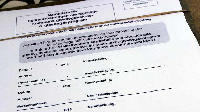 Folkomröstning Norrtälje