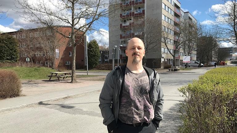 Per Fernqvist, boende på Bandstolsvägen.
