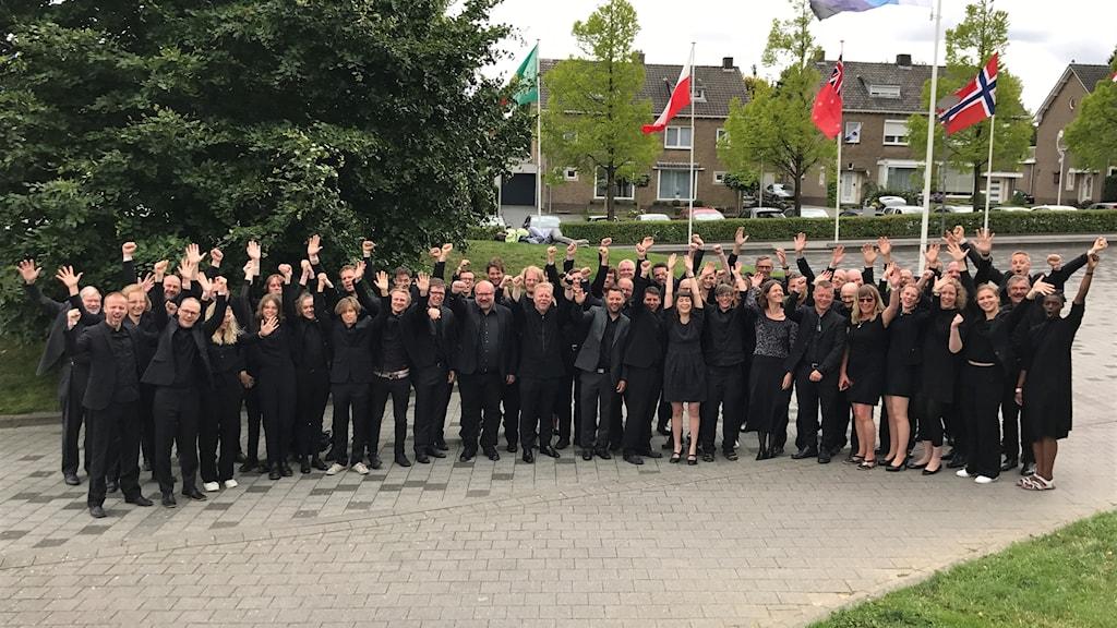 Uppsala Blåsarsymfoniker bildades år 2000.