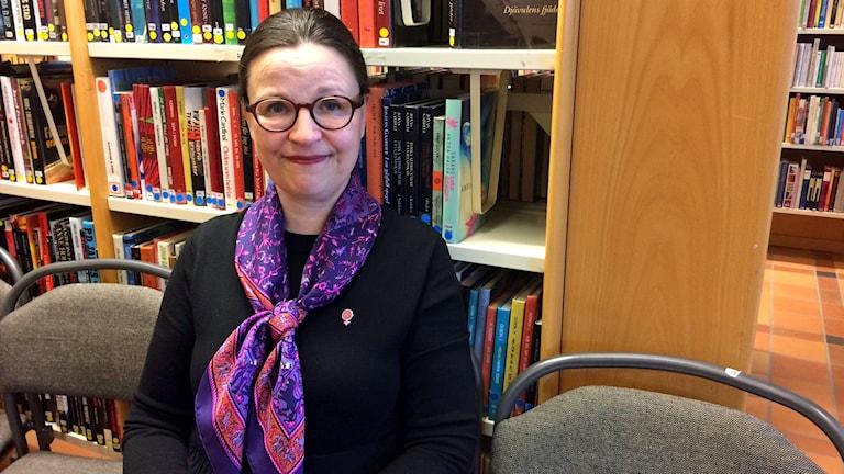 Gymnasie- och kunskapsminister Anna Ekström.
