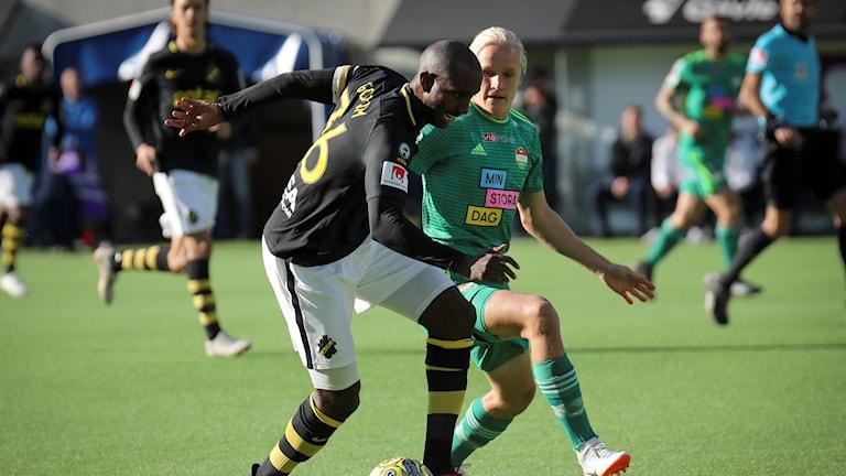Uppsalalaget Dalkurd föll med 4-0 mot AIK på hemmaplan.