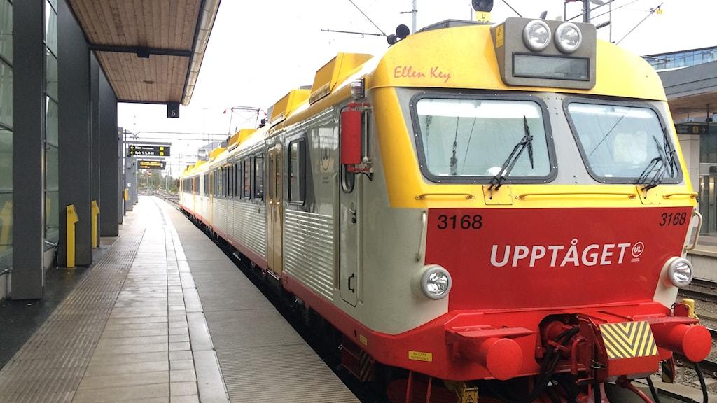 UL Upptåget tåg uppsala-sala