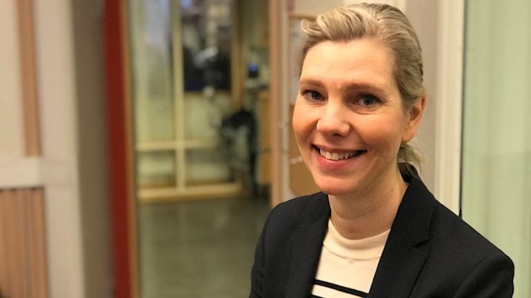 Forskaren Maria Hedefalk, som även arbetar med att utbilda förskollärare.