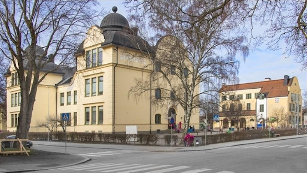 Sverkerskolan. Foto: Uppsala kommun