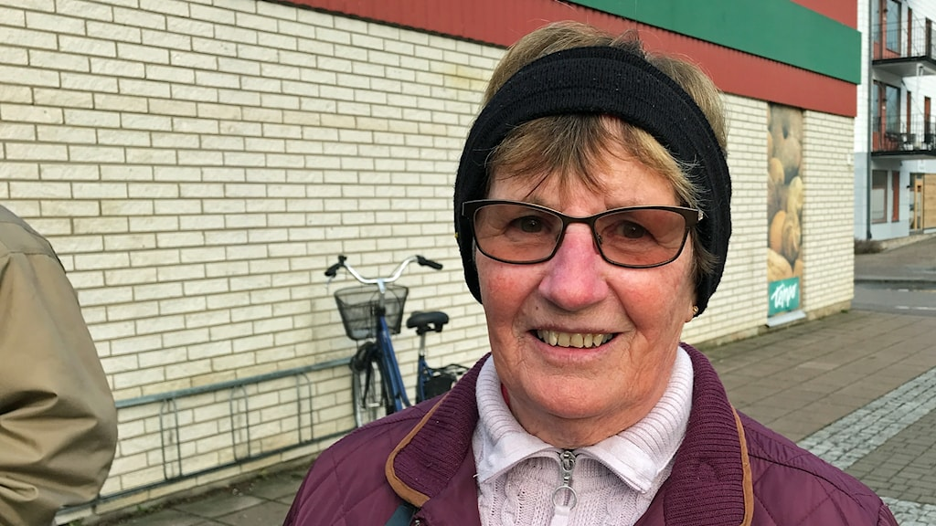 Östervålabon Anita Pettersson.