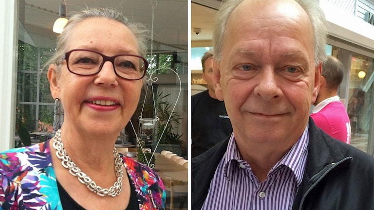 Carina Lund (M) och Owe Fröjd (Båp)