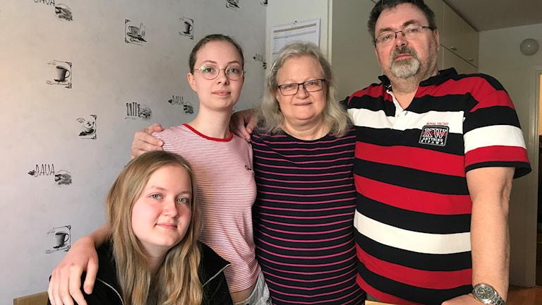 Familjen Eriksson-Gustafsson