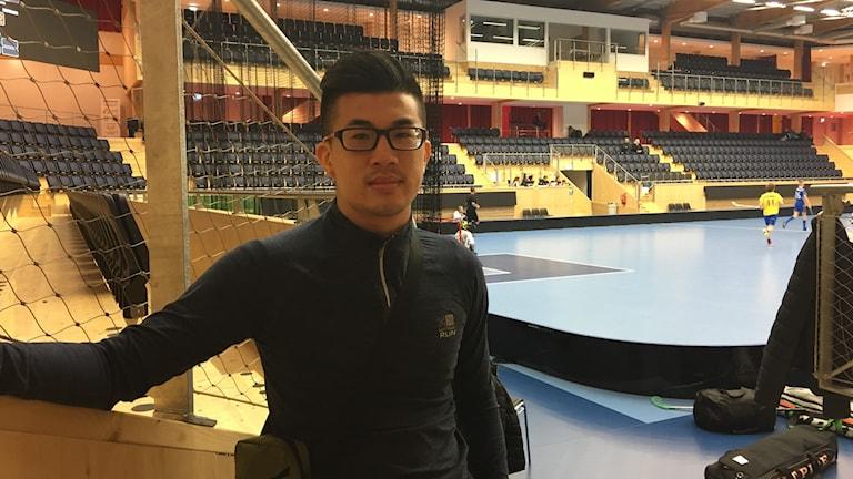 Ben Ow, tränare för laget som representerar Singapore under Storvretacupen