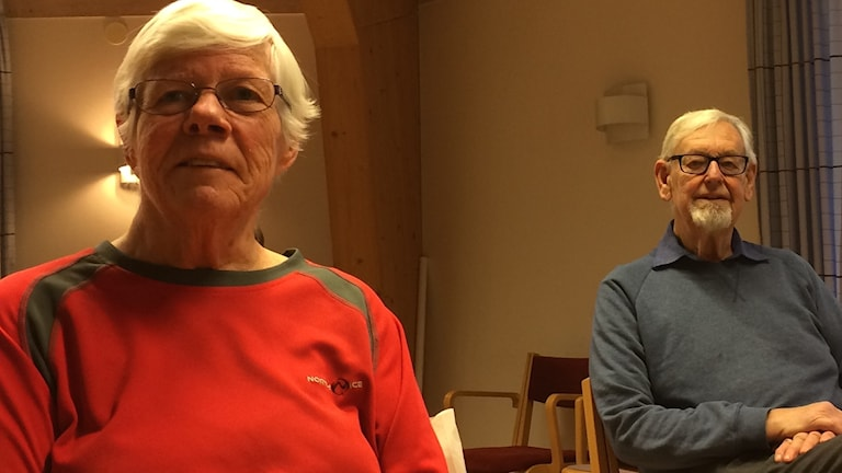 Uppsalapensionärerna Maud Öhlund och Carl Olof Cederblad