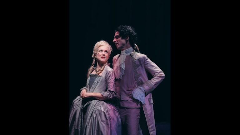 Mikaela Ramel och Robin Keller