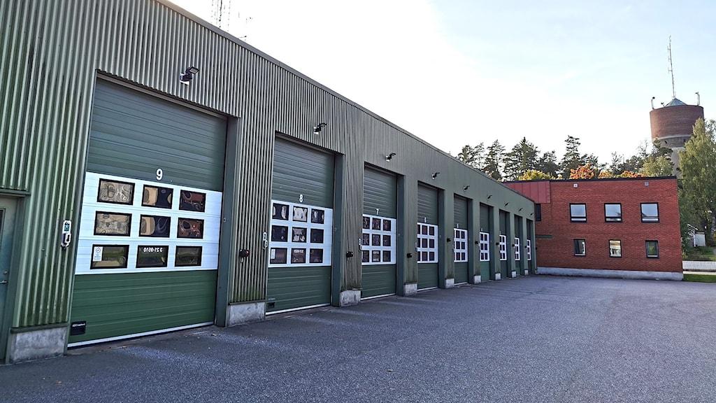 Tierps gamla brandstation