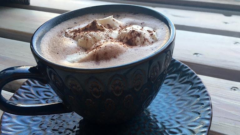 Varm choklad med Frida Leijons recept.