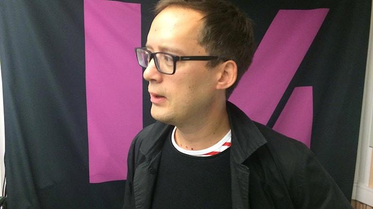 Henrik Fröjmark, ny VD för Rättviseförmedlingen.