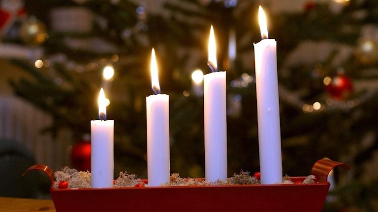 bränder med levande ljus