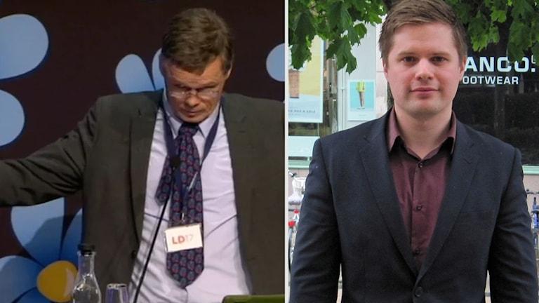 Uppsala kommuns ordförande för Sverigedemokraterna Simon Alm om Martin Strids uttalande under partiets stämma under helgen.