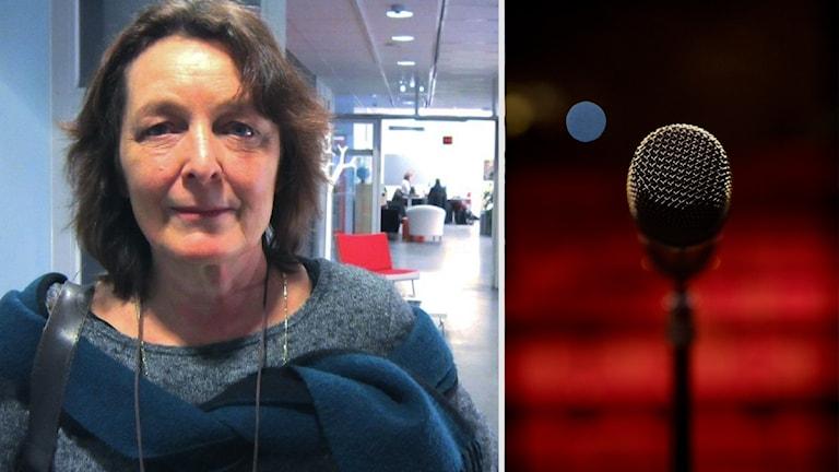 Maria björk anordnar tävling i Poetry Slam i Sävja