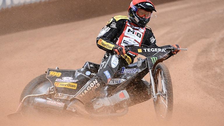 Andreas Jonsson, speedwayförare i Rospiggarna.