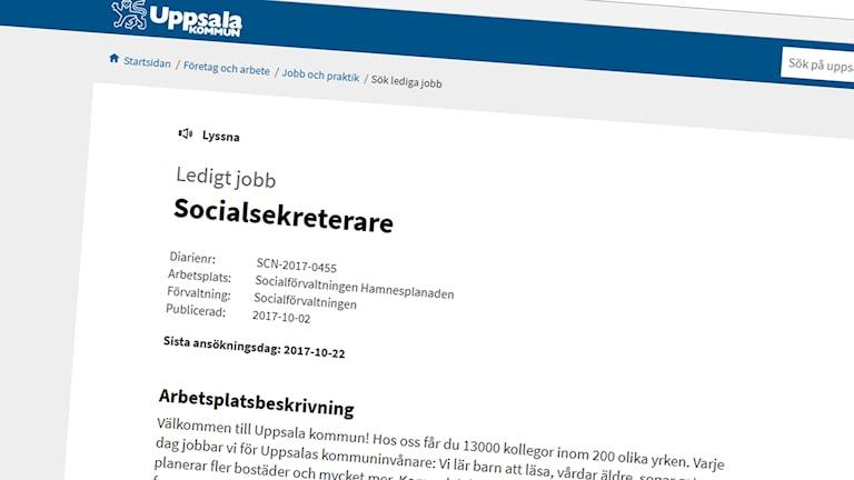 Lättare att rekrytera socialsekreterare