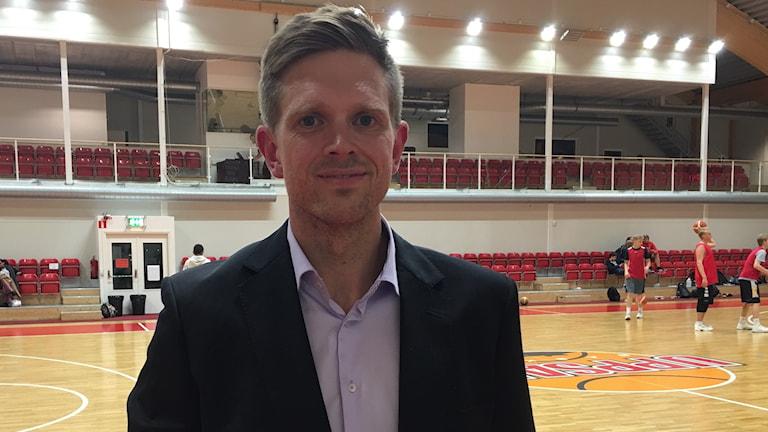 Coach Henrik Johansson, Uppsala Basket