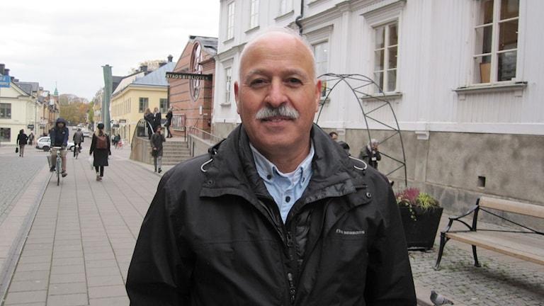 Amil Sarsour, ordförande för Samarbetsorganisationen för invandrarföreningar i Uppsala.