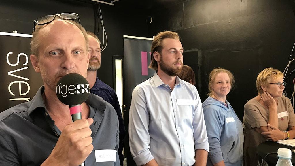 P4 Upplands debatt i Östhammars kommun 2018.
