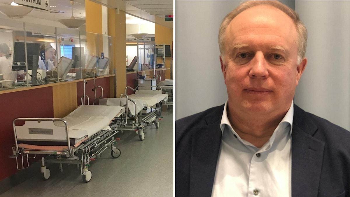 Mikael Köhler, tidigare chefsläkare vid Akademiska sjukhuset.