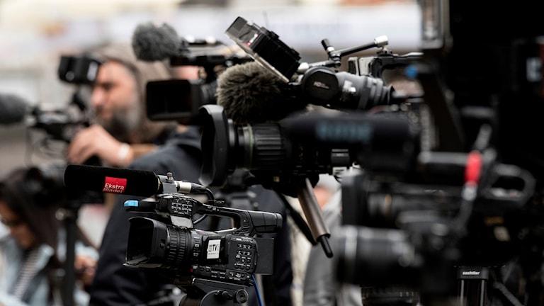 Filmkamera.